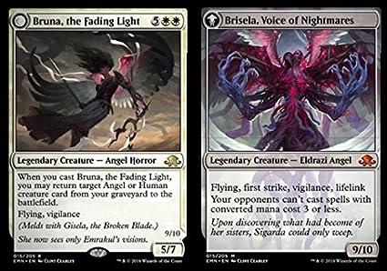 Amazon.com: Magic: the Gathering - Bruna, the Fading Light ...