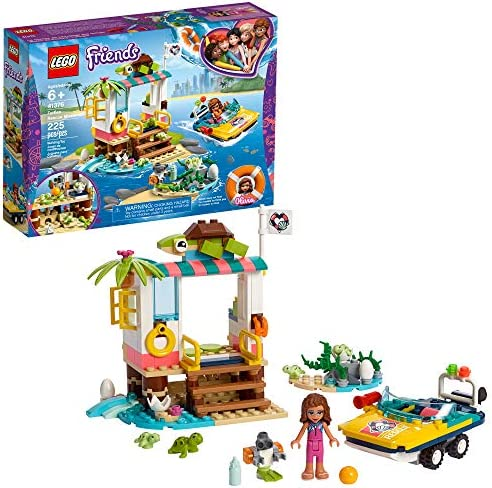LEGO Friends Turtles Mission Minifigure product image