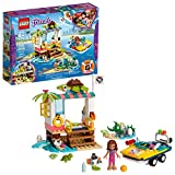 Toys : LEGO Friends Turtles Rescue Mission 41376 Rescue Building Kit with Olivia Minifigure and Toy Turtles, Includes Toy Rescue Vehicle and Clinic for Pretend Play (225 Pieces)