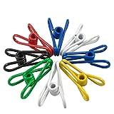 YAKA 18 Pcs Multi-purpose Steel Wire Clips