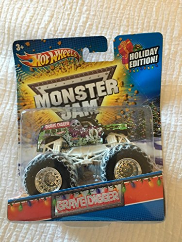 Hot Wheels Monster Jam HOLIDAY EDITION 2011 Gravedigger 1...