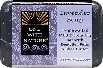 Dead Sea Mineral Lavender Soap, 7 oz (200 g) (6-Pack)