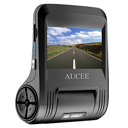 AUCEE Roader Dash Cam, WiFi 1080P Full HD 170° Wide Angle 2.45'' Screen Car Dashboard Camera Recorder, Car DVR Vehicle Camera with Sony Sensor Night Vision, G-Sensor, WDR, Loop (Contact Lens For Sale)