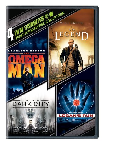 4 Film Favorites  Post Apocalypse  I Am Legend  Logans Run  Dark City Directors Cut  The Omega Man
