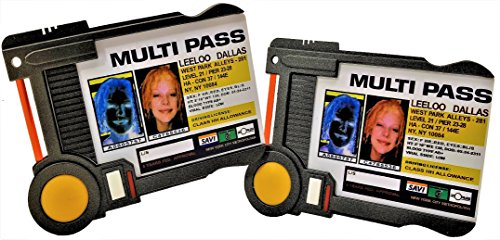 QMX The Fifth Element Multipass Replica 2-Pack ()