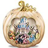 Disney's Spook-tacular: Halloween-Themed Pumpkin Tabletop Centerpiece by The Bradford Exchange