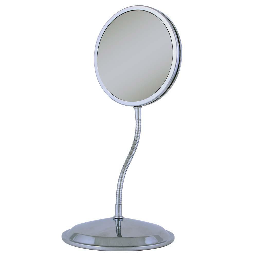 Amazon zadro triple vision gooseneck vanity and wall mount amazon zadro triple vision gooseneck vanity and wall mount mirror chrome finish travel mirrors beauty amipublicfo Gallery