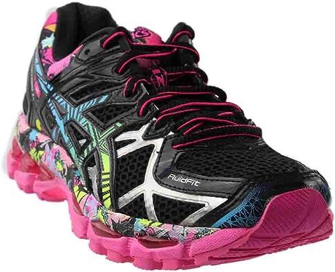 Asics Gel-Kayano 21 Zapatilla de Running de la Mujer: Amazon.es: Zapatos y complementos
