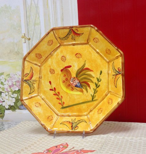 Rooster Serving Platter - Bamboo Rooster, Platter, 83979 By ACK