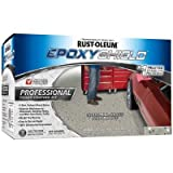 Rust-Oleum EpoxyShield 2 gal. Silver Gray Semi-Gloss Professional Floor Coating Kit-(2 Pack)