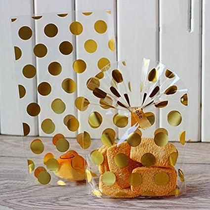 Amazon.com: 50pcs Bolsa de Fiesta Bolsas De Plástico Para ...