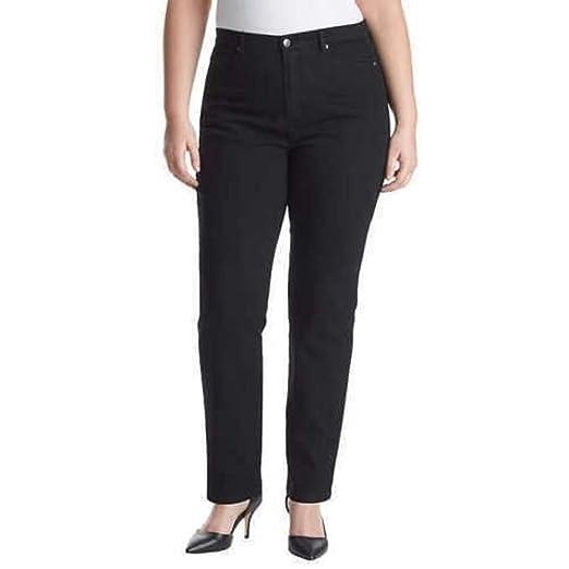 dbc5ef6a2d5 Gloria Vanderbilt Women s Plus-Size Amanda Tapered Leg Jean Short Length  28.5 Inch Inseam (