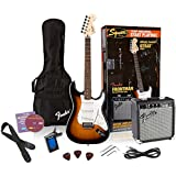 Squier Affinity Strat Pack with Fender Frontman 10G - Brown Sunburst