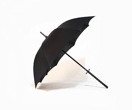 Madaye Katana negro paraguas paraguas regalo Hombres paraguas comercial