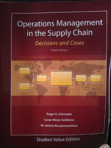 operational management cases Operations management: contemporary concepts and cases (the mcgraw-hill/ irwin series operations and decision sciences) [roger g schroeder] on.