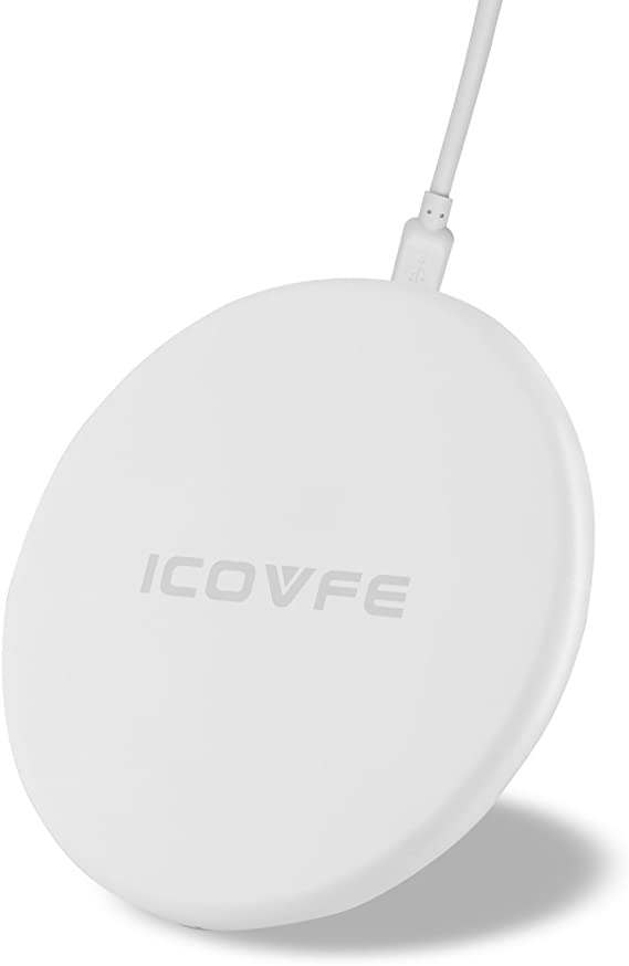ICOVFE Wireless Charger 7.5W for iPhone X iPhone 8 iPhone 8