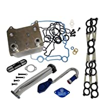 Basic Solution Kit for Ford 6.0L Powerstroke With Sinister EGR Delete Kit, Oil Cooler and Intake Gaskets by Sinister