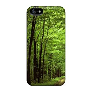 Premium The Path Through The Forest Back Cover Snap On Case For Iphone 5/5s