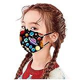 MASZONE [US Stock] 5pcs Face Mask for Kids Reusable