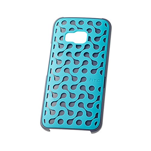 HTC Deco Stand Case for HTC One M9 - Retail Packaging - Blue/Pink