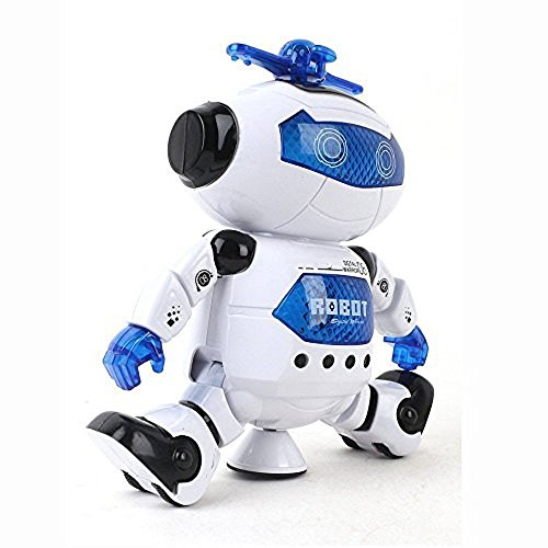 LilPals Live Action Dancing Robot – Toy Plays Music, Walks, Spins, Dances And Emits Awesome Light & Sound