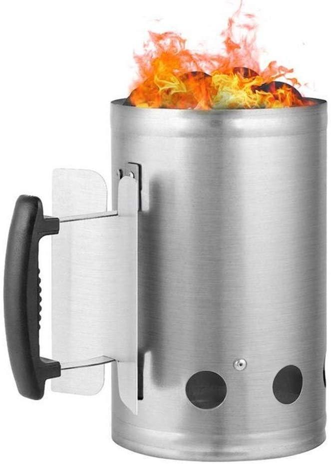 Lcb Incinerador El Metal galvanizado jardín incinerador Gran Agujero Cubo de Fuego ardiendo Hojas de Papel de Madera de la Papelera: Amazon.es: Hogar