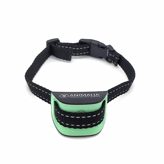 Collar Antiladridos Premium para Perros Pequeños y Medianos de Animalia - Collar de Adiestramiento Para Perros Pequeños - Collar Automático Para Perros ...