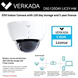 Verkada Security Systems Outdoor Camera D50 with 120 Day Storage and 5 Year License eliminates NVRs