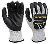 MagnoGrip 006-086 Impact Cut Resistant Magnetic Gloves with Touchscreen Technology - Xlarge