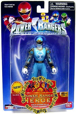Amazon.com: Power Rangers Heroes Ninja Storm Series 15 ...