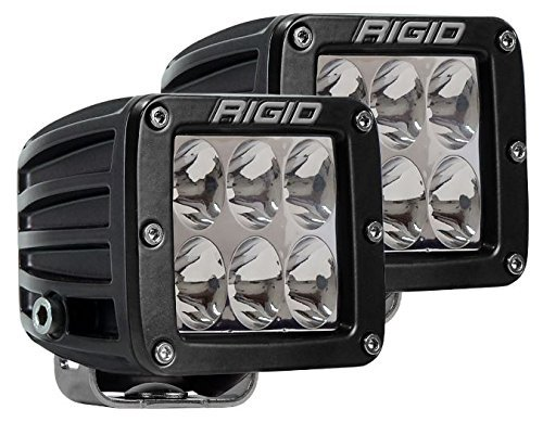 - 502313 Rigid D-Series PRO | Driving | PAIR (set of 2) LED lights, 502313