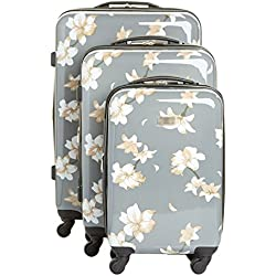 Vince Camuto Corinn 3 Piece Hardside Spinner Luggage Set