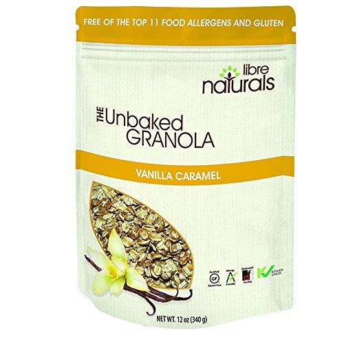 Nut Free, Gluten Free Vanilla Caramel Granola 340 gram pouch x 6 pack ... ()