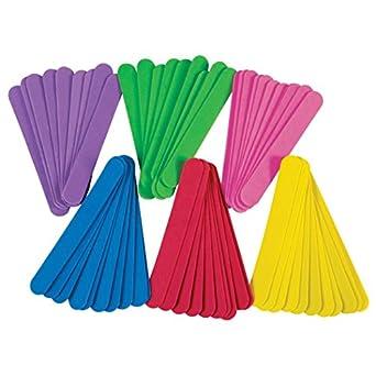 Pacon Jumbo Colored Craft Sticks