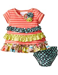Baby-Girls Knit Dress and Panty Set