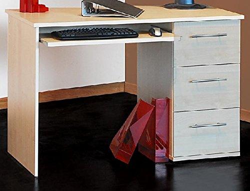 computertisch in ahorn bestseller shop f r m bel und. Black Bedroom Furniture Sets. Home Design Ideas