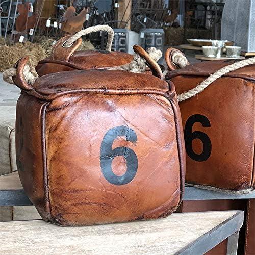 Antic line cr/éations T/ürstopper Leder und Seil Nummern