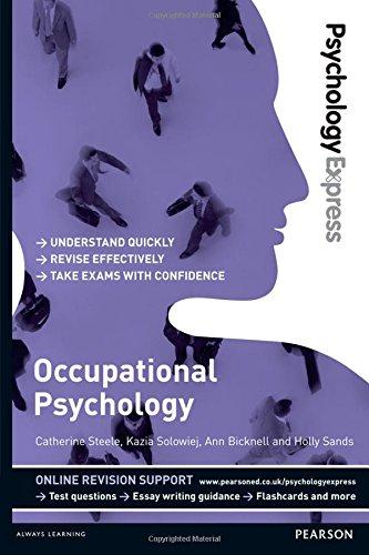 Occupational Psychology (Psychology Express)