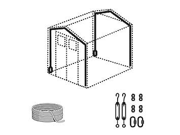 GROSFILLEX - Kit Anclaje Para Casetas De Resina Grosfillex: Amazon.es: Jardín