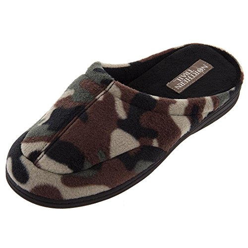 Clog Trail 12 Mens Slippers 8 Northern Camouflage pwXBXd