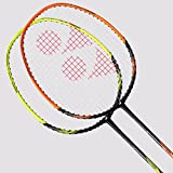 Yonex 2018 New Nanoray Ace Badminton Racket (Black Orange)
