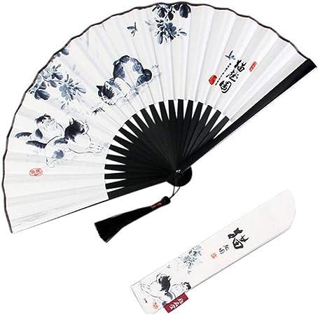 GDYX Abanico plegable Ventilador chino Ventilador plegable de ...