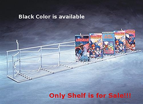 New or Retails Black Finished Universal Zig-Zag Shelf 48 Inch by Zig-Zag Shelf