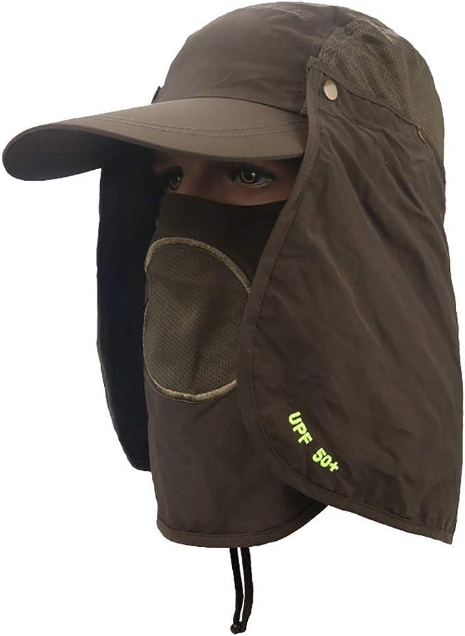 Mujeres Hombres al Aire Libre Sombrero para el Sol Protección UV ...