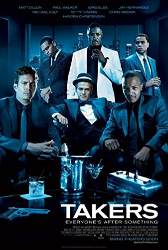 Takers 2010 S/S Movie Poster 11x17