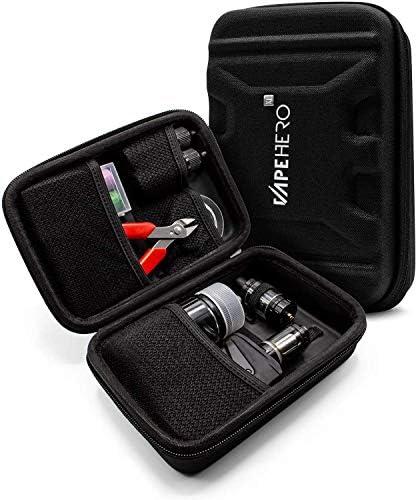 VapeHero Estuche XL para Cigarrillo electrónico | Estuche para vaporizador para máx. 120ml de líquido y Accesorios | Apto para Grandes Mods | Resistente a Golpes: Amazon.es: Hogar