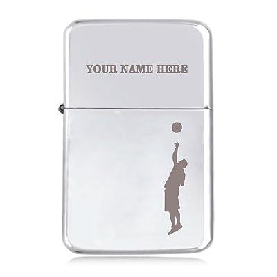 basket-ball Motif–personnalisé Star coupe-vent Briquet à essence