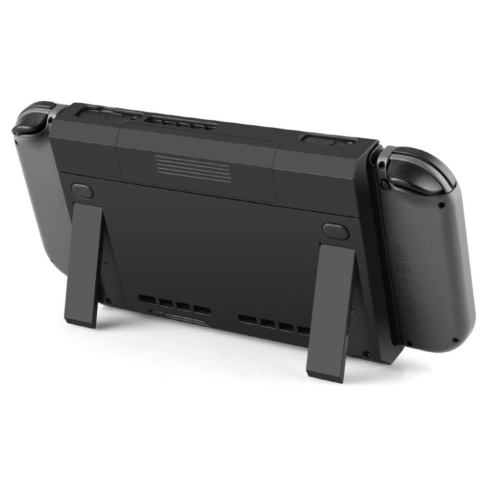 Shouldbuy Nintendo Switch Battery Charger Case Kick Stand 6500mAh Extend Power Bank
