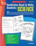 img - for Nonfiction Read & Write Booklets: Science: 10 Interactive Reproducible Booklets That Help Students Build Content Knowledge and Reading Comprehension Skills book / textbook / text book