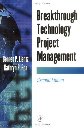 Read Online Breakthrough Technology Project Management:2nd (Second) edition pdf epub